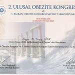 2. Ulusal Obezite Kongresi ve 1. Balkan Obezite Kongresi Satellit Sempozyumu