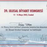 39. Ulusal Diyabet Kongresi