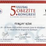 5. Ulusal Obezite Kongresi