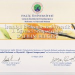 I. İstanbul Beslenme ve Diyetetik Öğrenci Sempozyumu