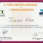 II. Türk Obezite Kongresi I. Beslenme Sempozyumu