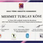 Türk Obezite Kongresi Diyetisyen Sempozyumu
