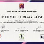 Türk Obezite Kongresi Mezuniyet Sonrası Eğitim Kursu