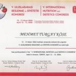 V. Uluslararası Beslenme ve Diyetetik Kongresi